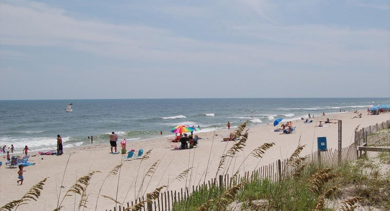 What Are Some Popular North Carolina Beaches?