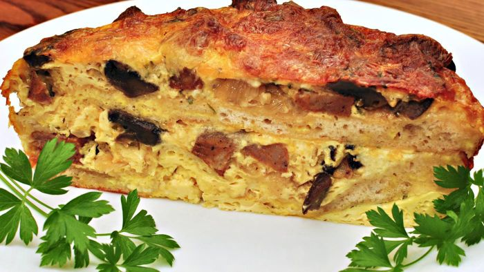 What Are Some Recipes for Overnight Breakfast Strata?