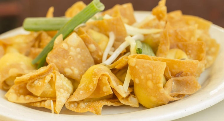What Is a Recipe for Cream Cheese Wontons?
