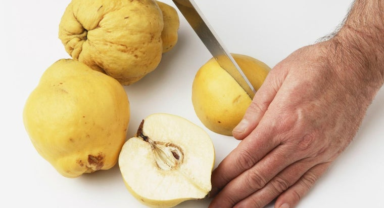 Where Does the Quince Fruit Typically Grow?