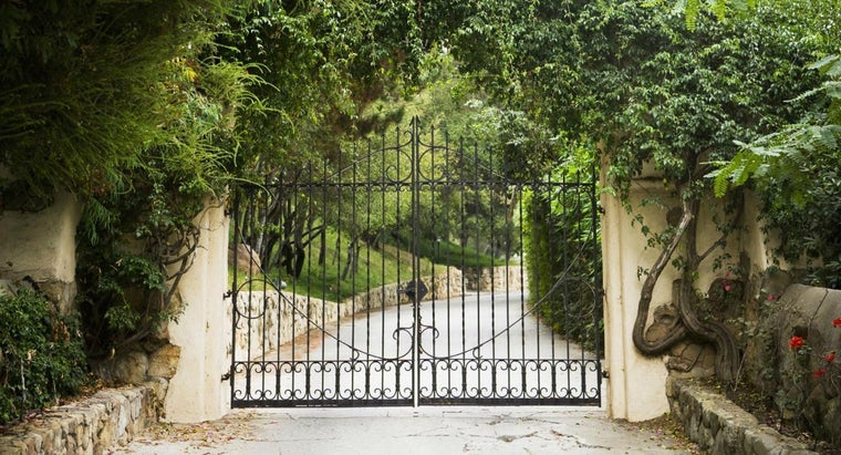 How Much Do Wrought Iron Entrance Gates Generally Cost?