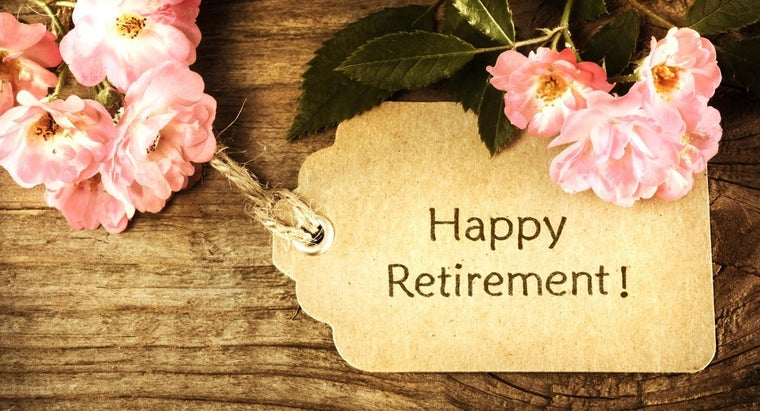 How Do You Word Your Wishes for a Co-Worker's Retirement Card?