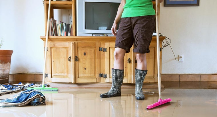 How Do You Clean a Flooded House?