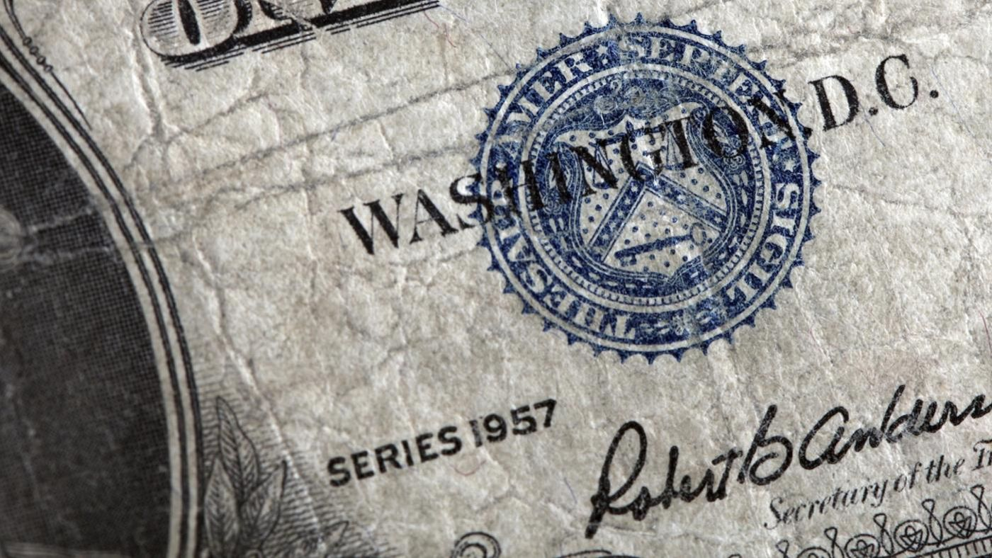 What is the value of a 1957 dollar bill reference 1betcityfo Images