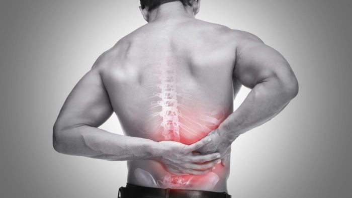 What are some causes of rib and back pain?