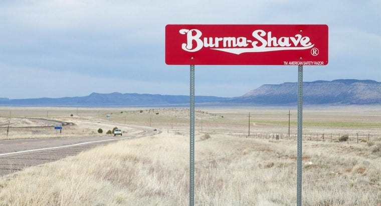 What Are the Burma-Shave Highway Signs?