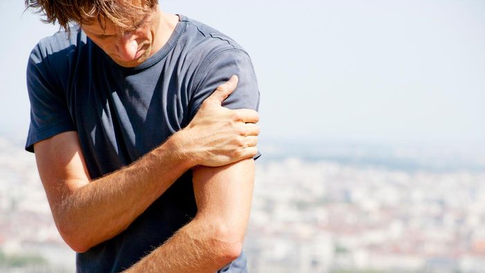 What is the best treatment for a strained or pulled muscle?