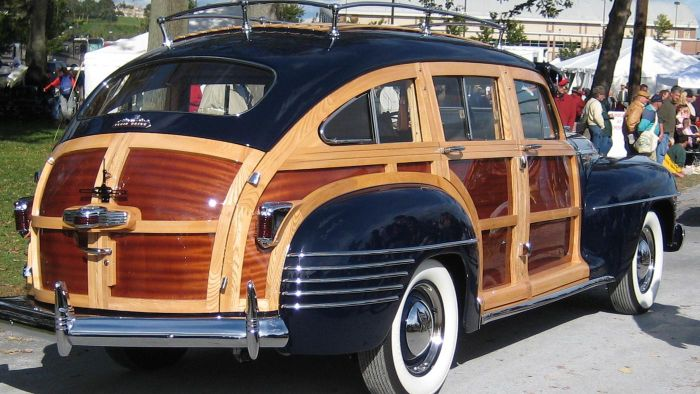 What is a Woody station wagon?