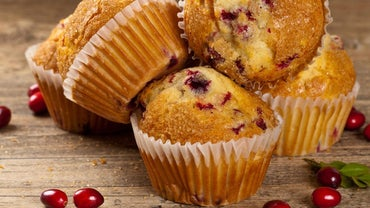 What Is a Simple Recipe for Cranberry Muffins?