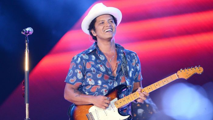 What CDs Has Bruno Mars Released?