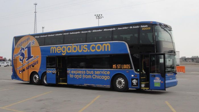 How do you book a ticket on Megabus?