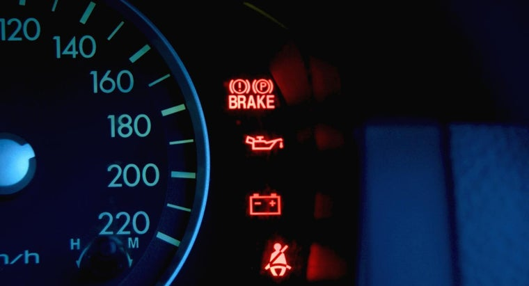 What Are Some of the Meanings of Vehicle Warning Lights?