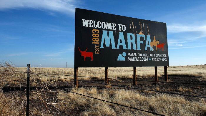 What Are Some Interesting Facts About Marfa,Texas?