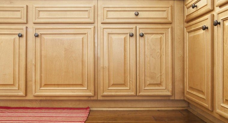 How Can You Clean Stains on Wood Cabinets?