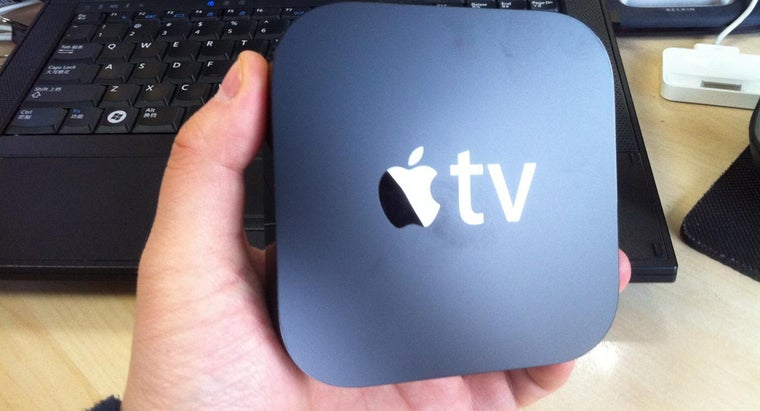 How Do You Use an Apple TV to Stream From a Computer?