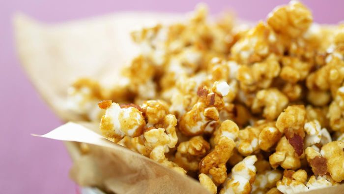 What Is a Simple Caramel Corn Recipe?