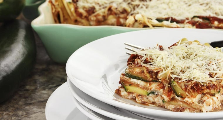 What Is a Simple Recipe for Zucchini Lasagna?