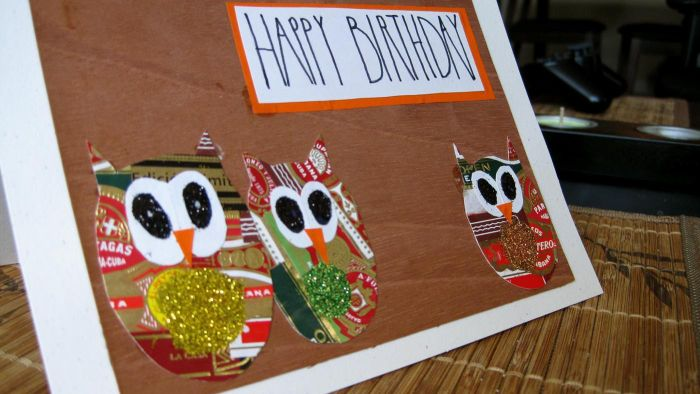 How Do You Make Funny Homemade Birthday Cards?