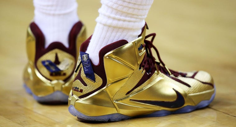What Kinds of Sneakers Do NBA Players Wear?