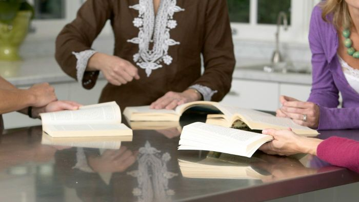 How Should Book Club Questions Be Structured?
