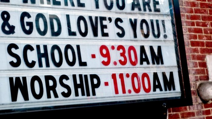 Can You Find Church Sign Sayings Online?