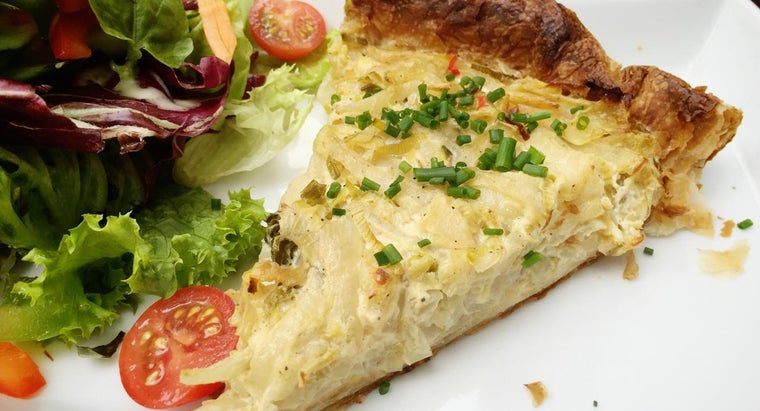 What Is Lidia Bastianich's Recipe for Onion Tart?
