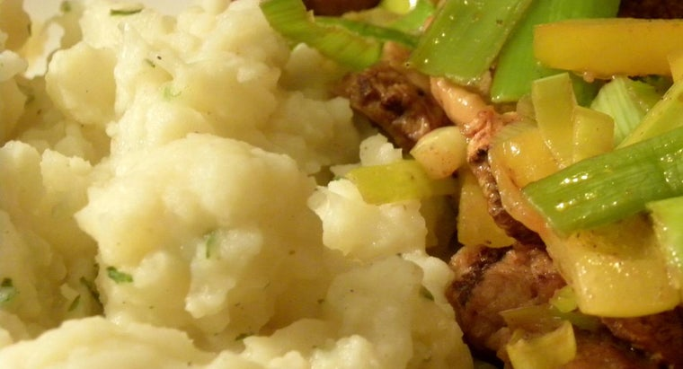 What Is a Good Recipe for Cauliflower Mashed Potatoes?