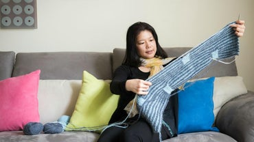What Are Some Commonly Used Knitting Stitches?