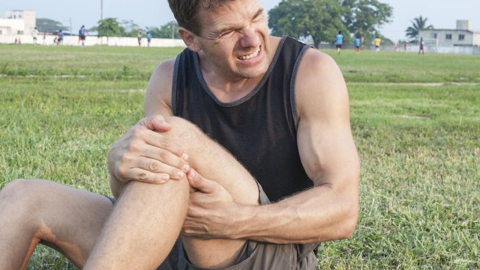 What are ways to treat leg cramps in the upper thigh?