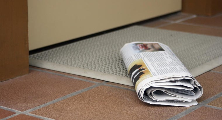 How Do You Arrange Newspaper Delivery From the Atlanta Journal-Constitution?