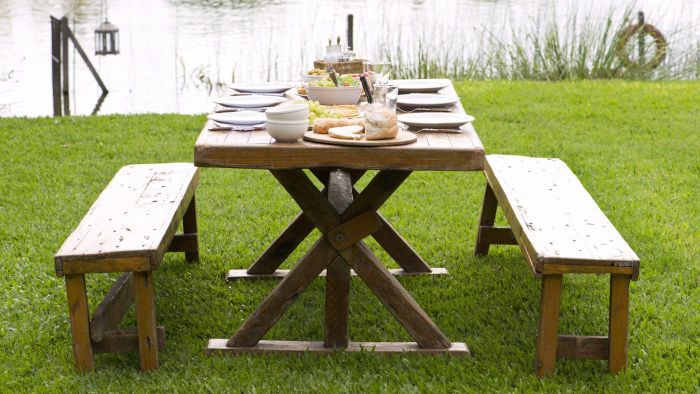 How Do You Build Your Own Picnic Table?