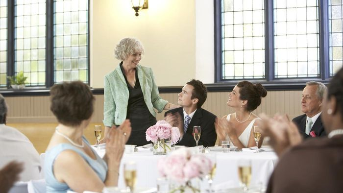 Which Attendees Usually Give Wedding Speeches?