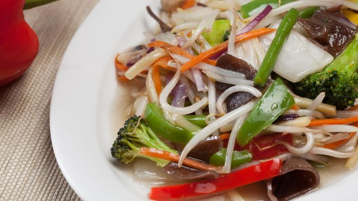 What are some simple recipes for chop suey?