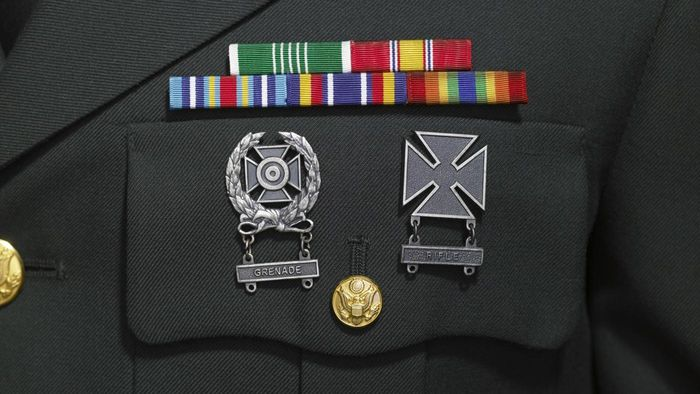 Is there a guide for military ribbons and medals?