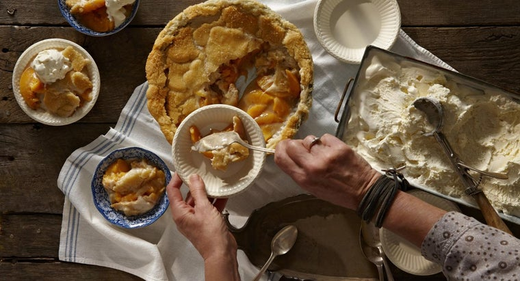 What Is an Easy Peach Pie Recipe?