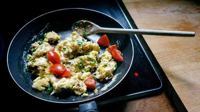 What Are Some Highly Rated Scrambled Egg Recipes?