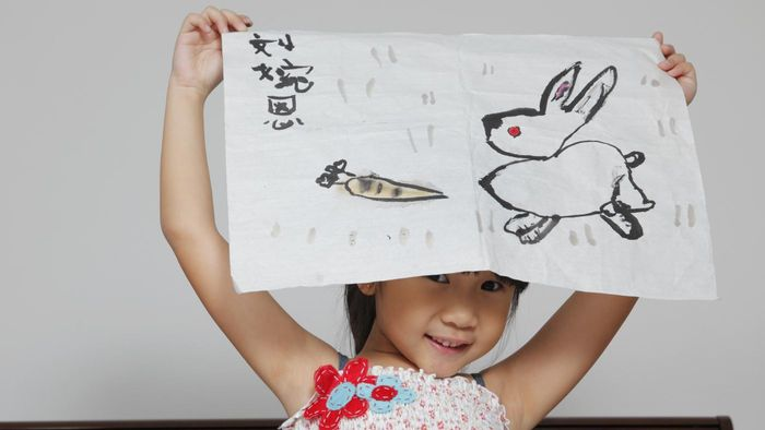 How do you draw a rabbit?