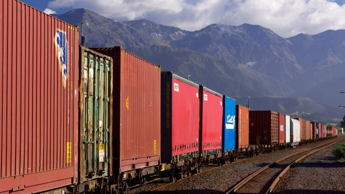 When Are Trains Used to Transport Goods for Sale?
