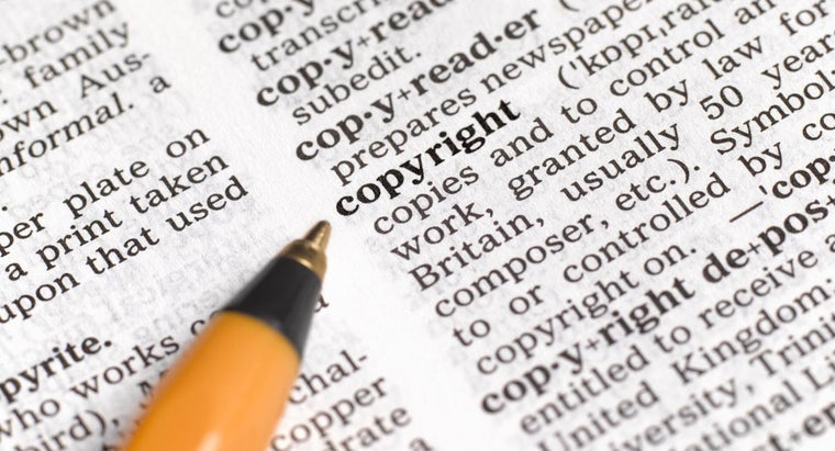 How Do You Know Who Owns a Copyright?