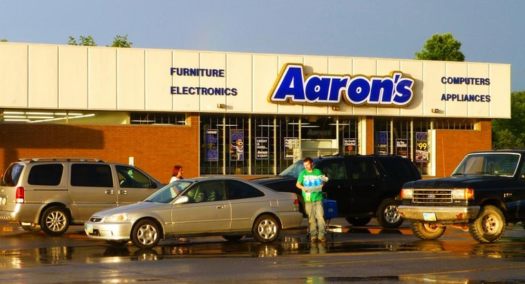 What Kinds of Products Can You Rent to Own at Aaron's?