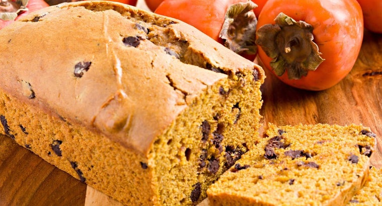 What Is a Recipe for Persimmon Bread?