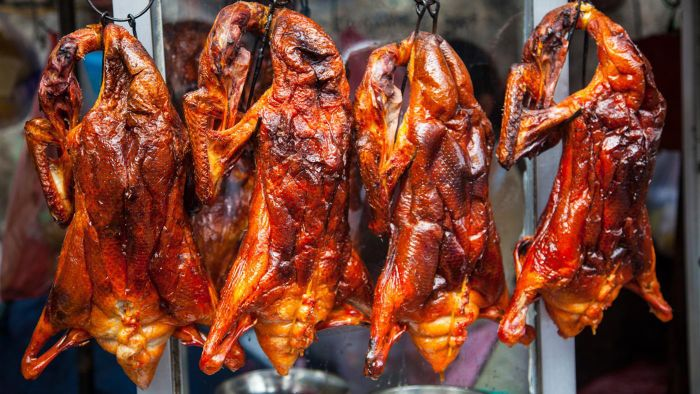 Where can you buy fresh duck?