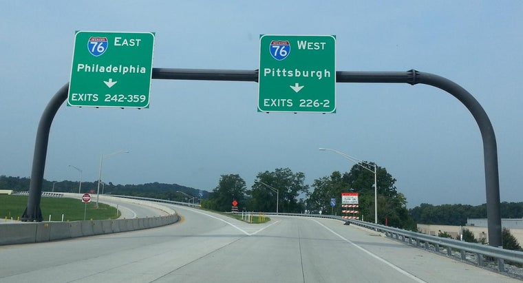 Where Can You Find the Exit Numbers on the PA Turnpike?
