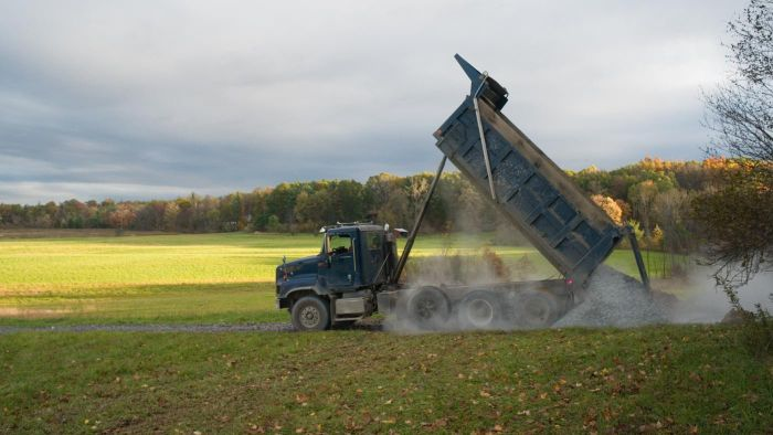 How Do You Find the Owner of a Dump Truck for Sale?