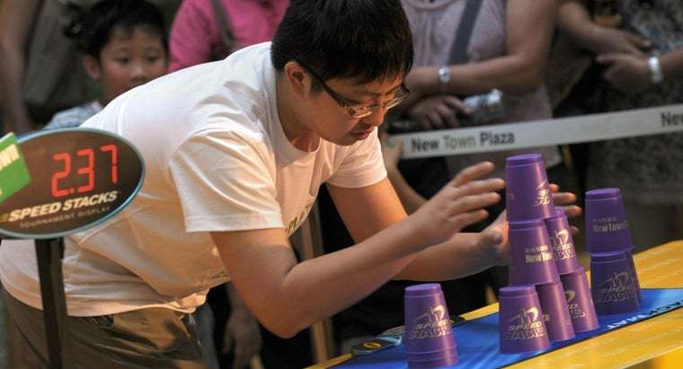What Is Speed Stacking?