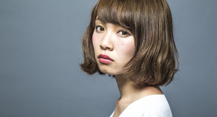 Where Can You Find Images of Short, Layered Haircuts?
