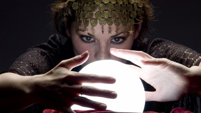 Who were the first fortune tellers recorded in historical documents?