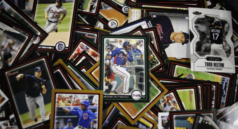 Where Can I Find Baseball Card Prices?