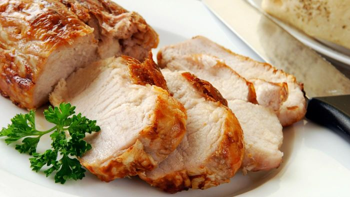 Where can you find a simple recipe for an oven roasted pork tenderloin?