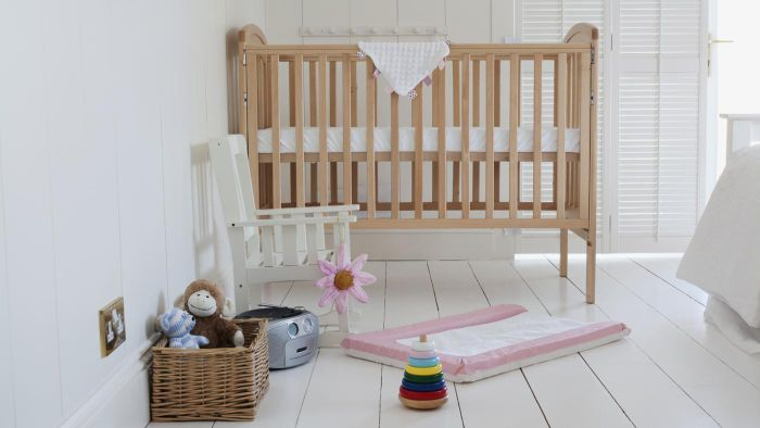 What types of baby furniture can you find at Target?